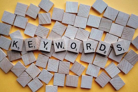 Keywords for SEO