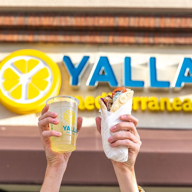 Not all GYROS wear capes. Some come in wraps and are ready to save the day from lunchtime boredom! #yallmedi