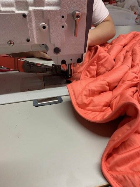 Weighted blanket diy sewing