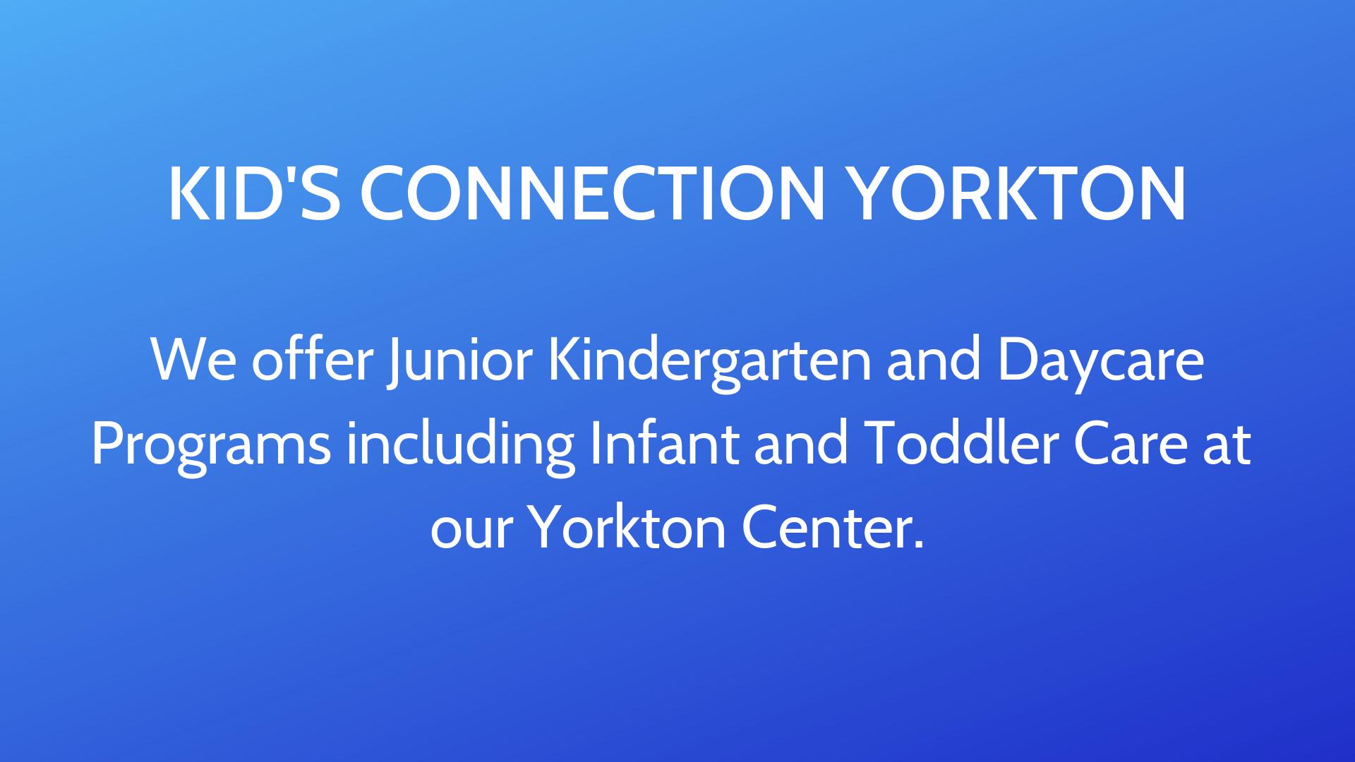 Kid's Connection Yorkton
