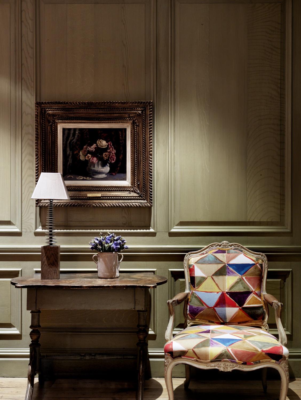CHARLOTTE STREET HOTEL - EDIT Harlequin linen