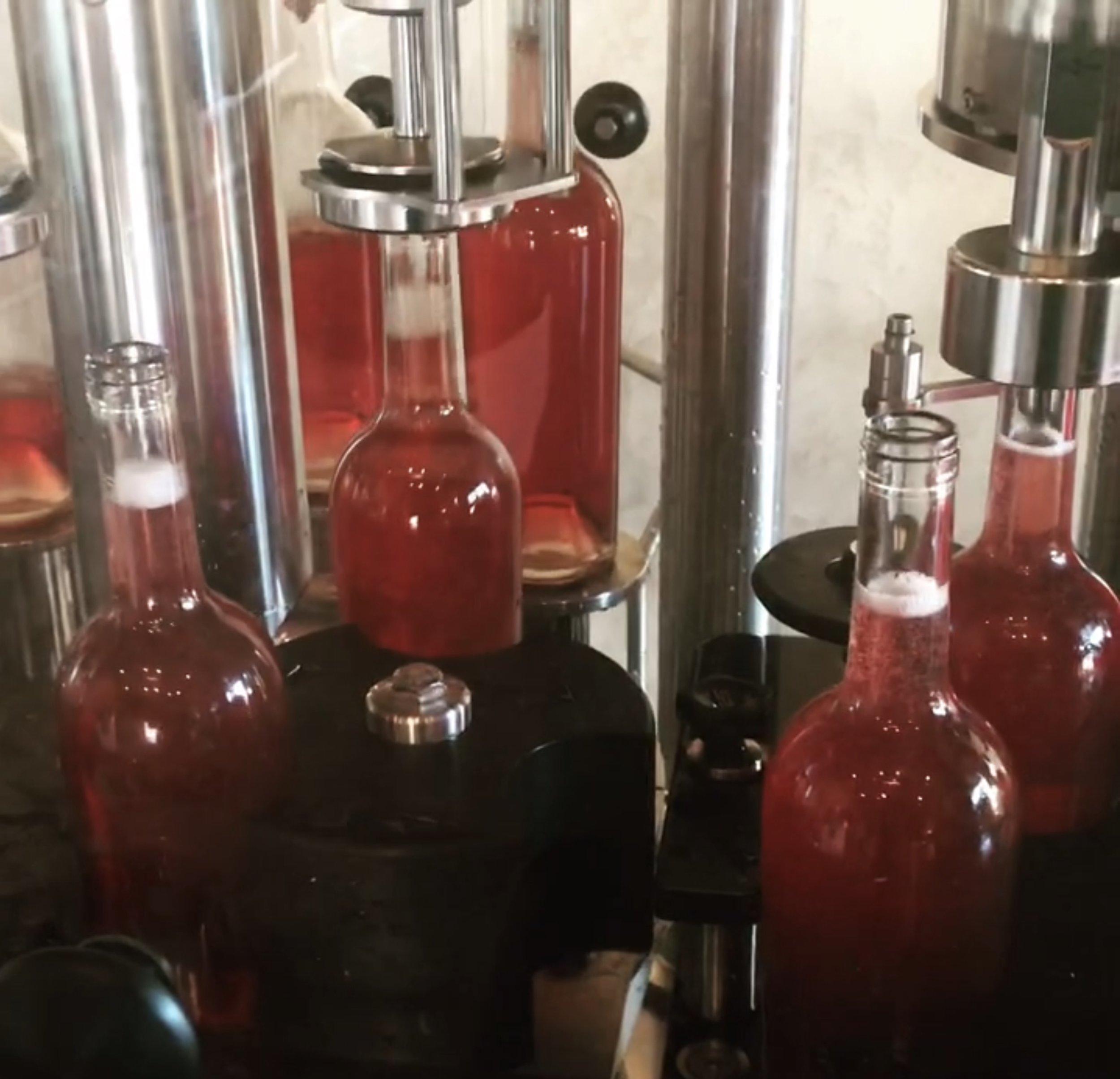 wine bottling by eno-logic