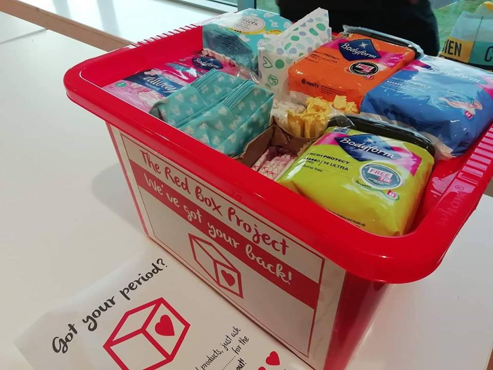 Red Box Project - Information for volunteers