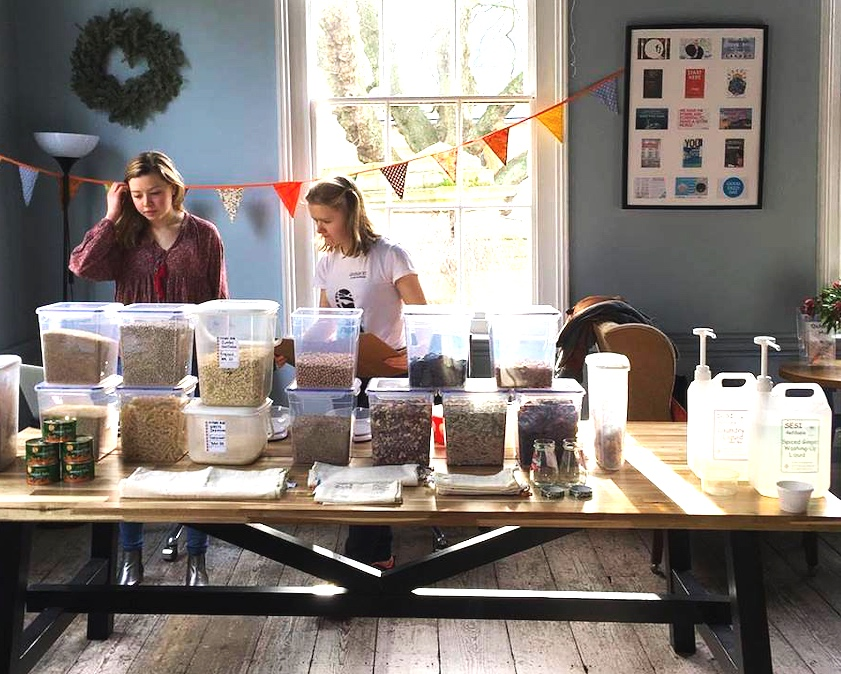 OxUnboxed Refill Shop - OxUnboxed is our not-for-profit refill shop, aiming to reduce plastic waste in Oxford City.
