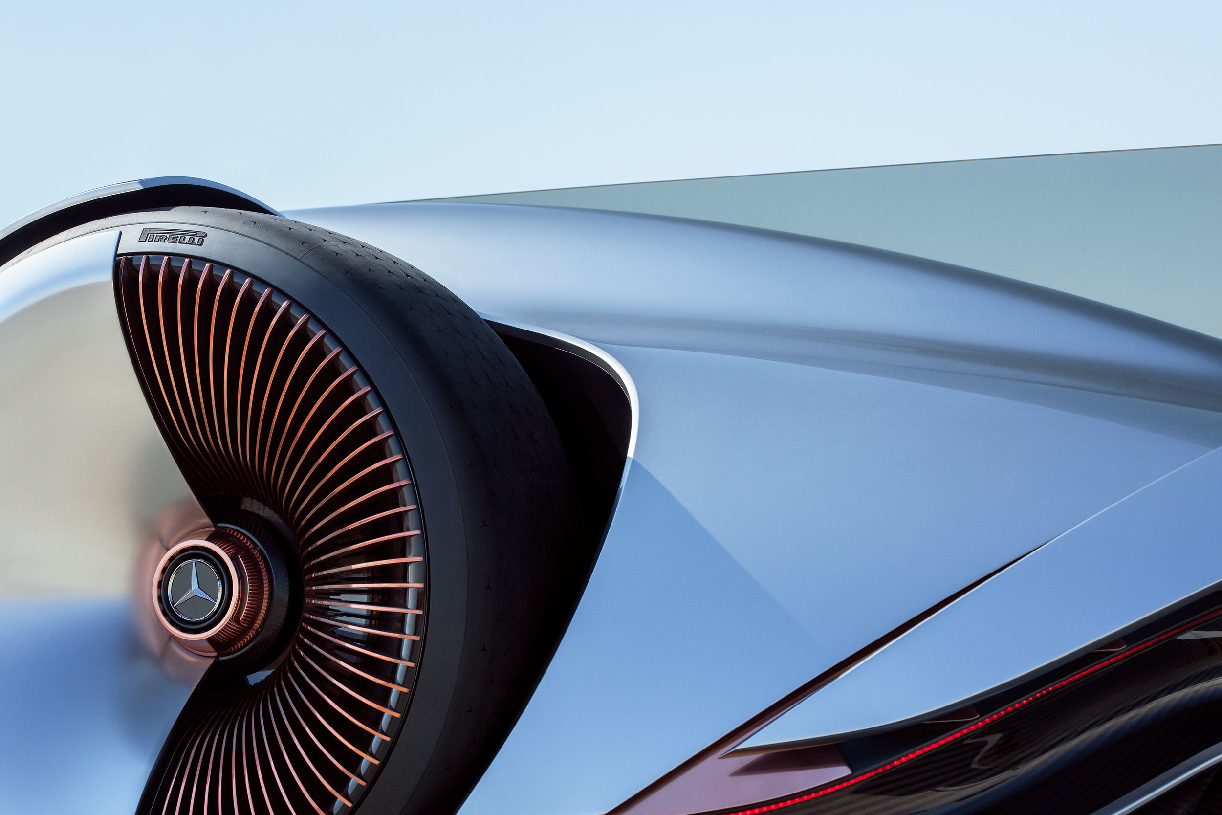 Mercedez-Benz - EQ Vision Silver Arrow