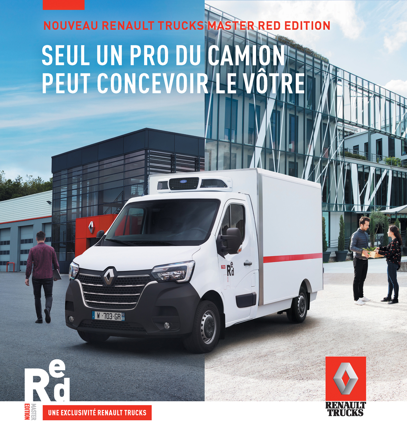 Renault - Master Red Trucks campaign