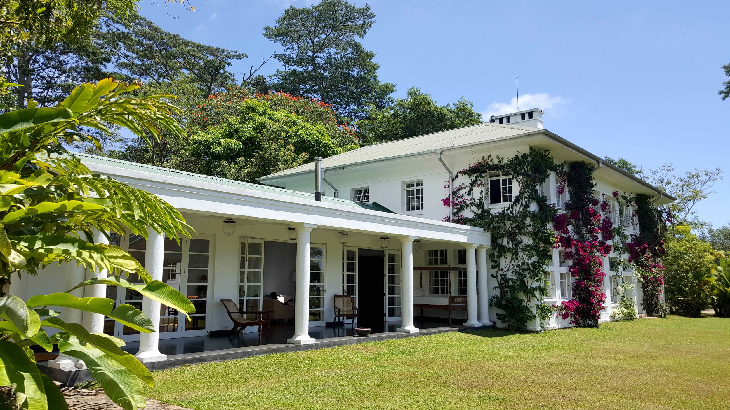 The planters house - Probably Sri Lanka's most remote and beautiful tea estate 'bungalow'