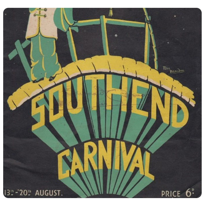 1906 First Carnival - The first Carnival was in 1906 as part of an annual regatta to raise funds for Southend Victoria Cottage Hospital in Warrior Square.