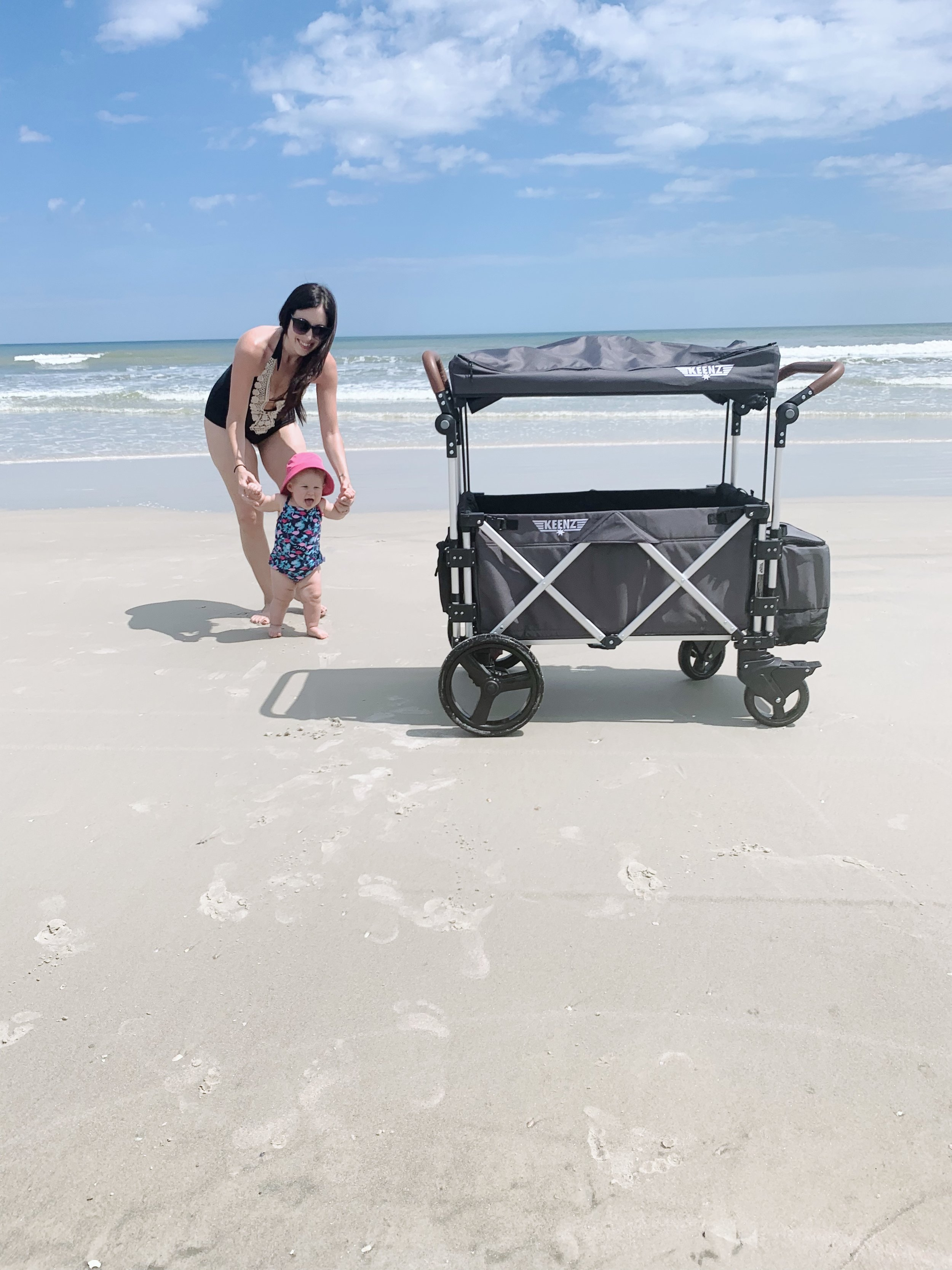 We are already in love with our Keenz wagon! It's perfect for beach trips!