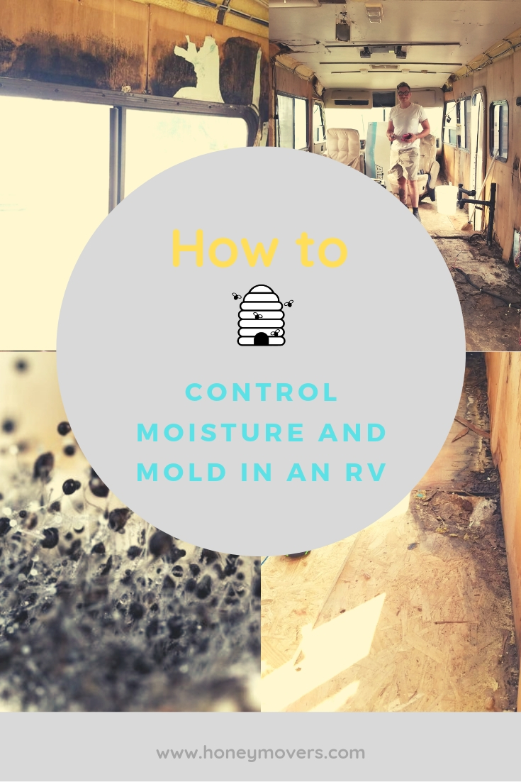 How To Control Moisture and Mold in an RV. Pin this to save it for later!