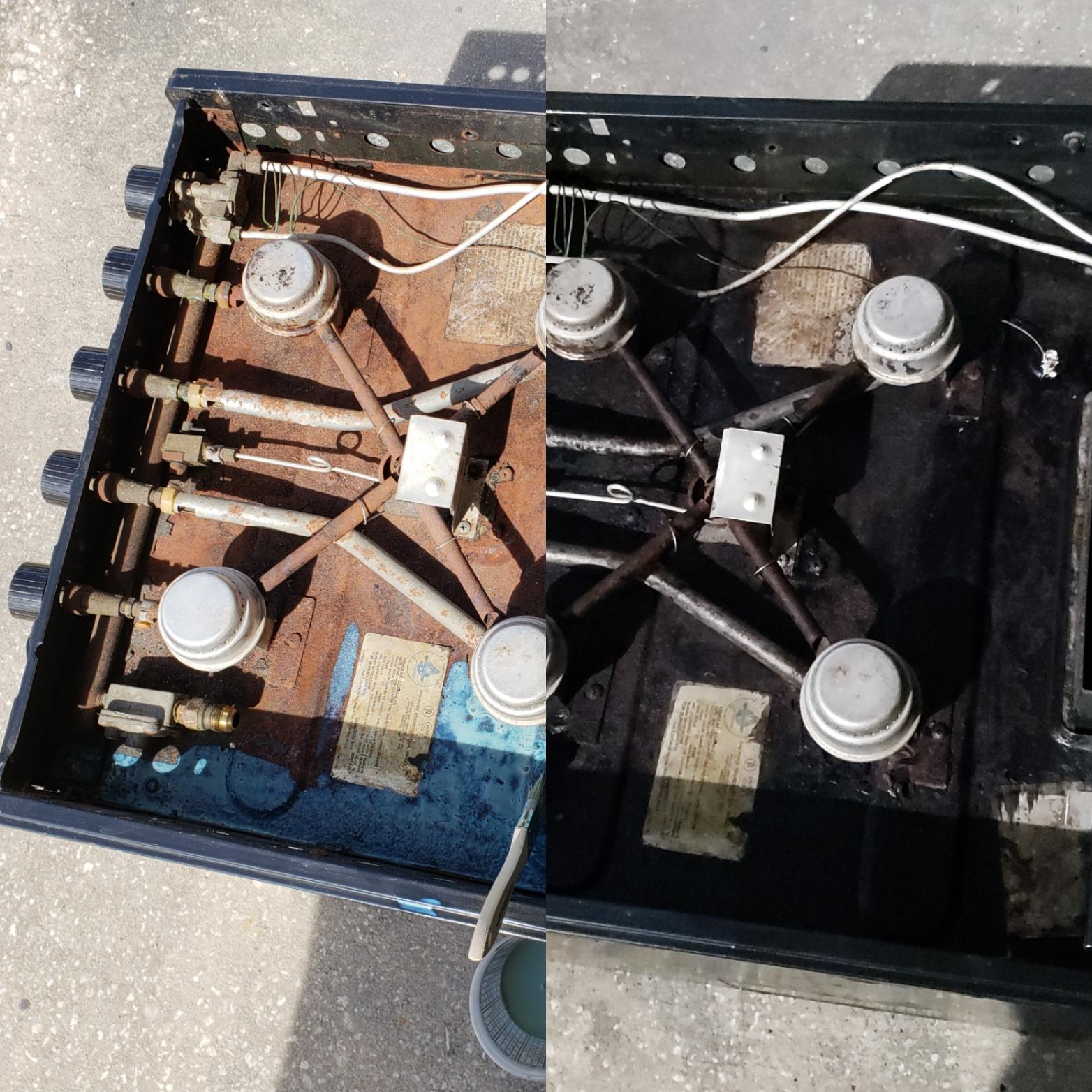 RV Restoration - Oven