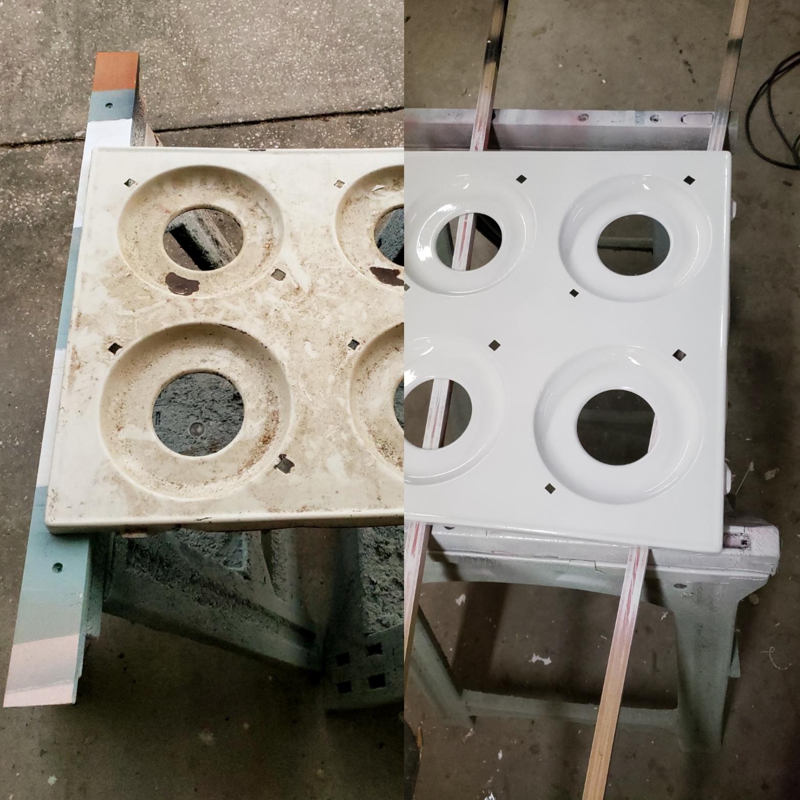 RV Oven Restoration