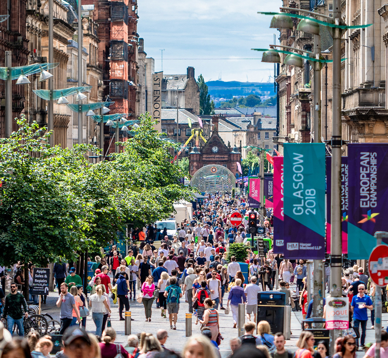 Glasgow City Centre - 16 mins drive-timeThere is a fantastic array of designer shops, stylish bars, restaurants and bistros in the city centre. There are also major cultural attractions available including the Gallery of Modern Art, the Royal Concert Hall and the Theatre Royal.