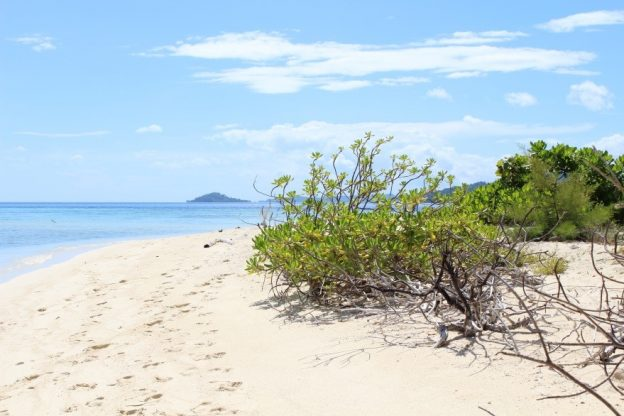 Yapara Island, off Central Sulawesi. Featured in the Sea Delight presentation