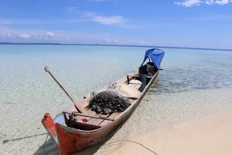 Local fishing vessel, Central Sulawesi