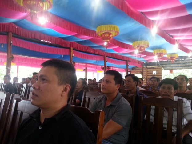 The meeting was attended by more than 100 vessel owners
