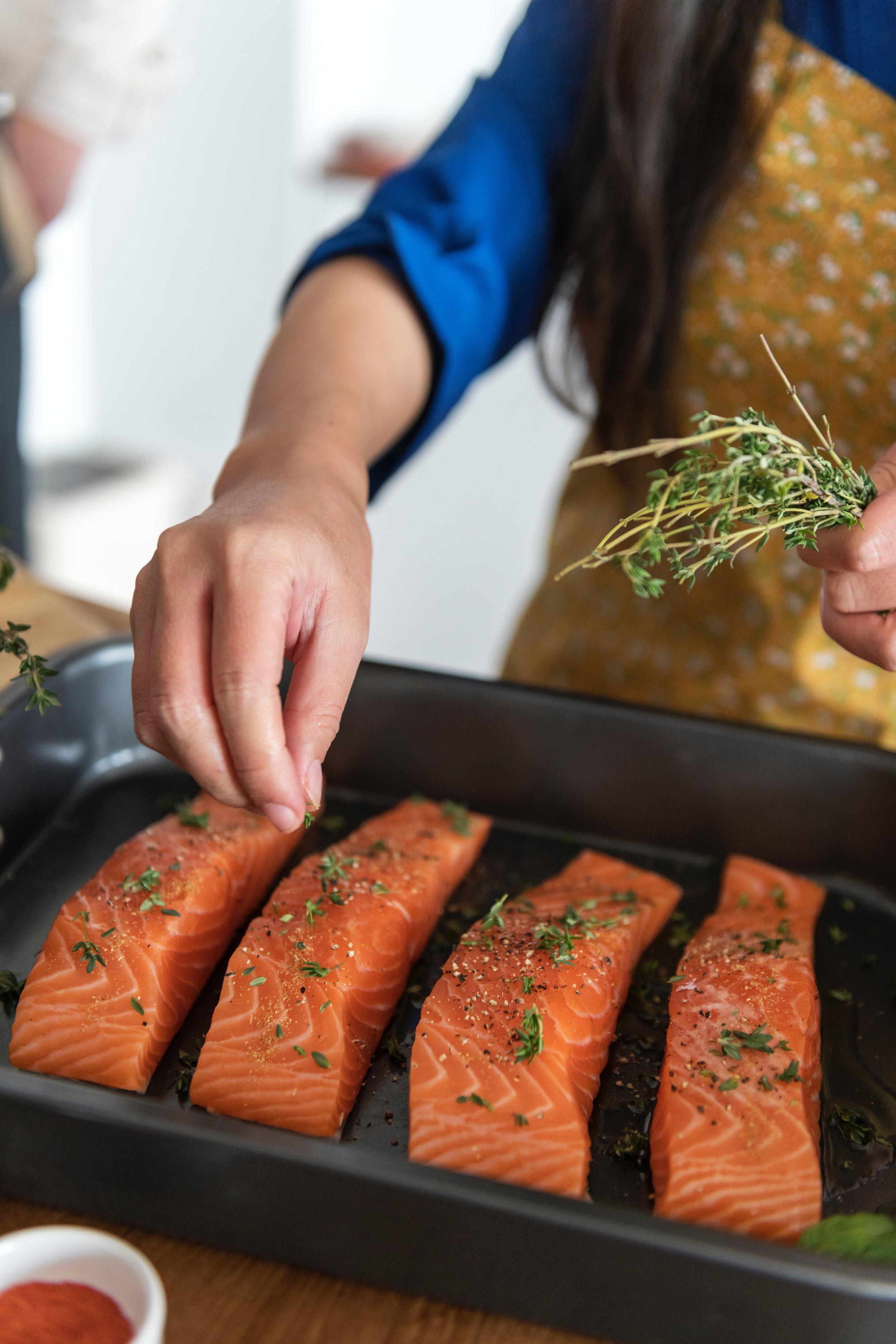 Frozen Salmon Fillets