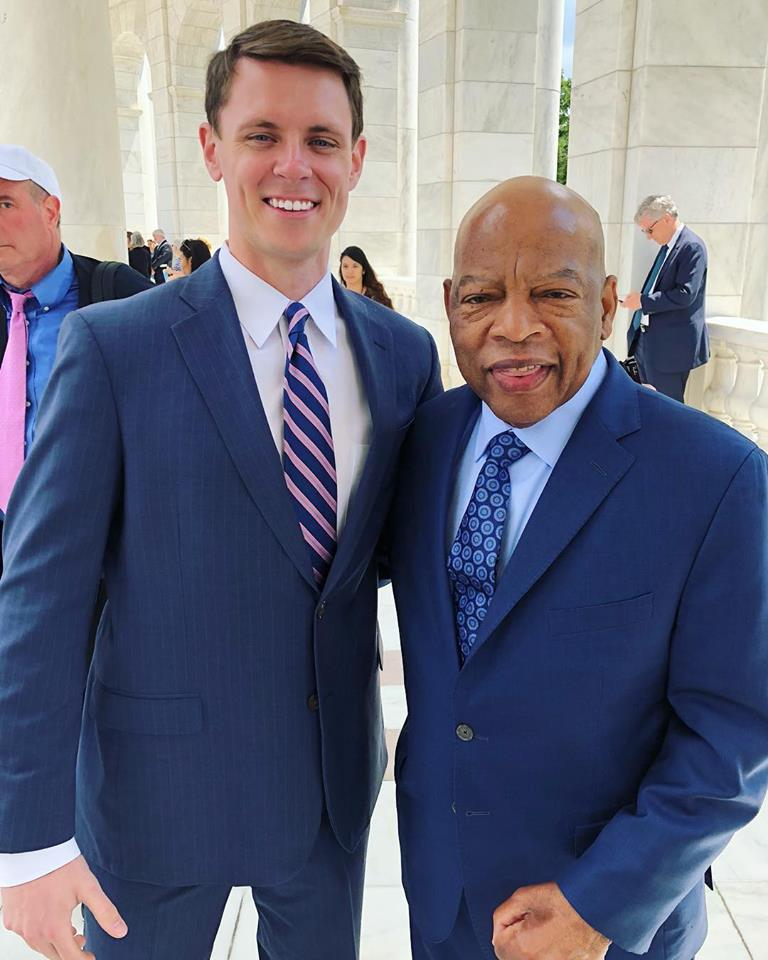 "- ""We may not have chosen the time, but the time has chosen us.""- John Lewis"