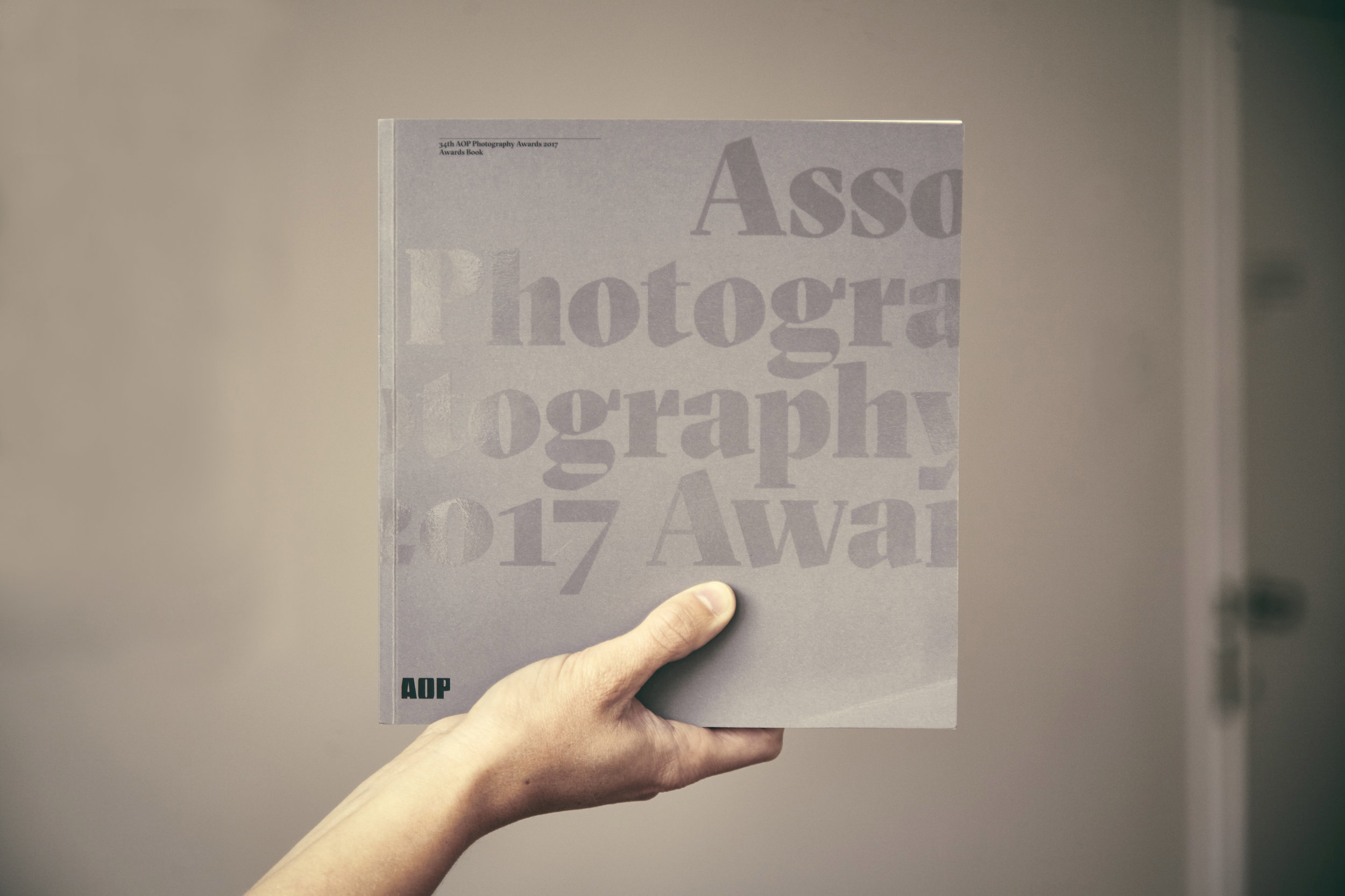 AOP awards book 2017.