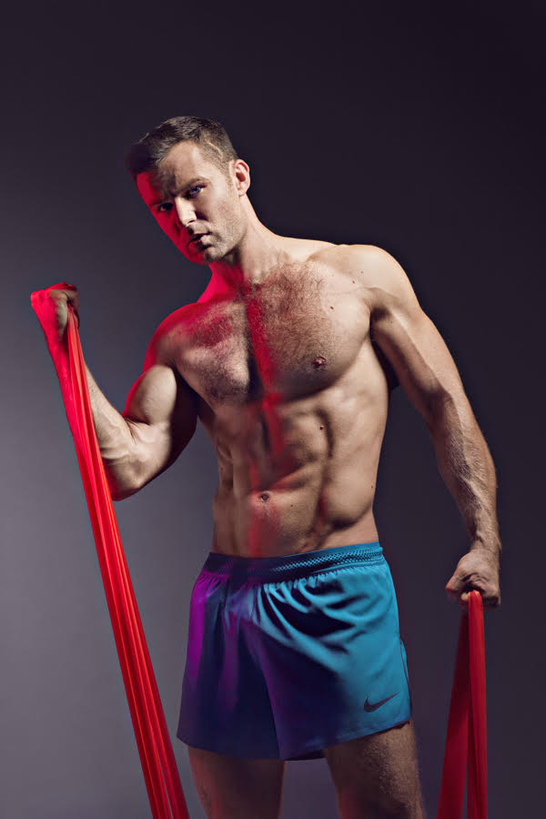 Harry Judd photographed for Gay Times . Jon Enoch