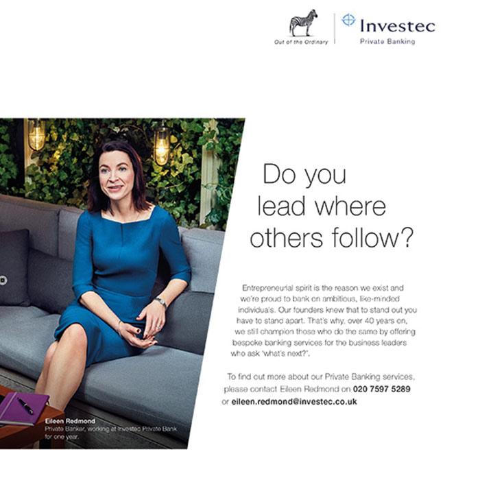 Investec adverts