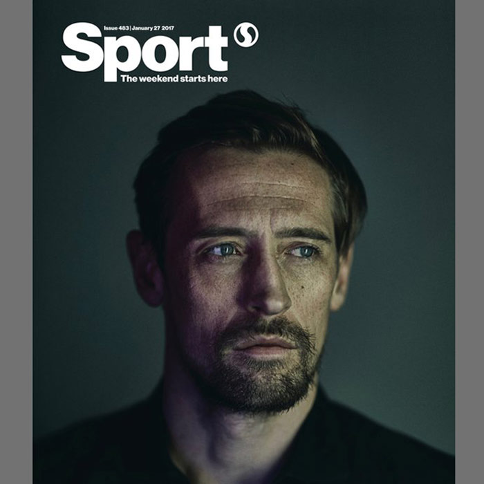Peter Crouch for Sport