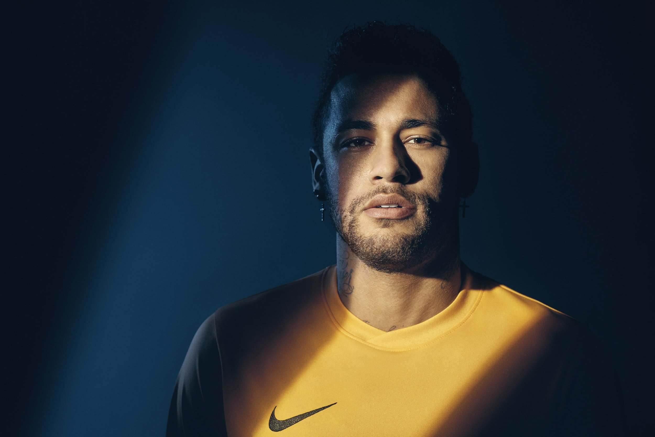 Neymar da Silva Santos Júnior, commonly known as Neymar Jr. or simply Neymar, is a Brazilian professional footballer who plays as a forward for French club Paris Saint-Germain and the Brazil national team.
