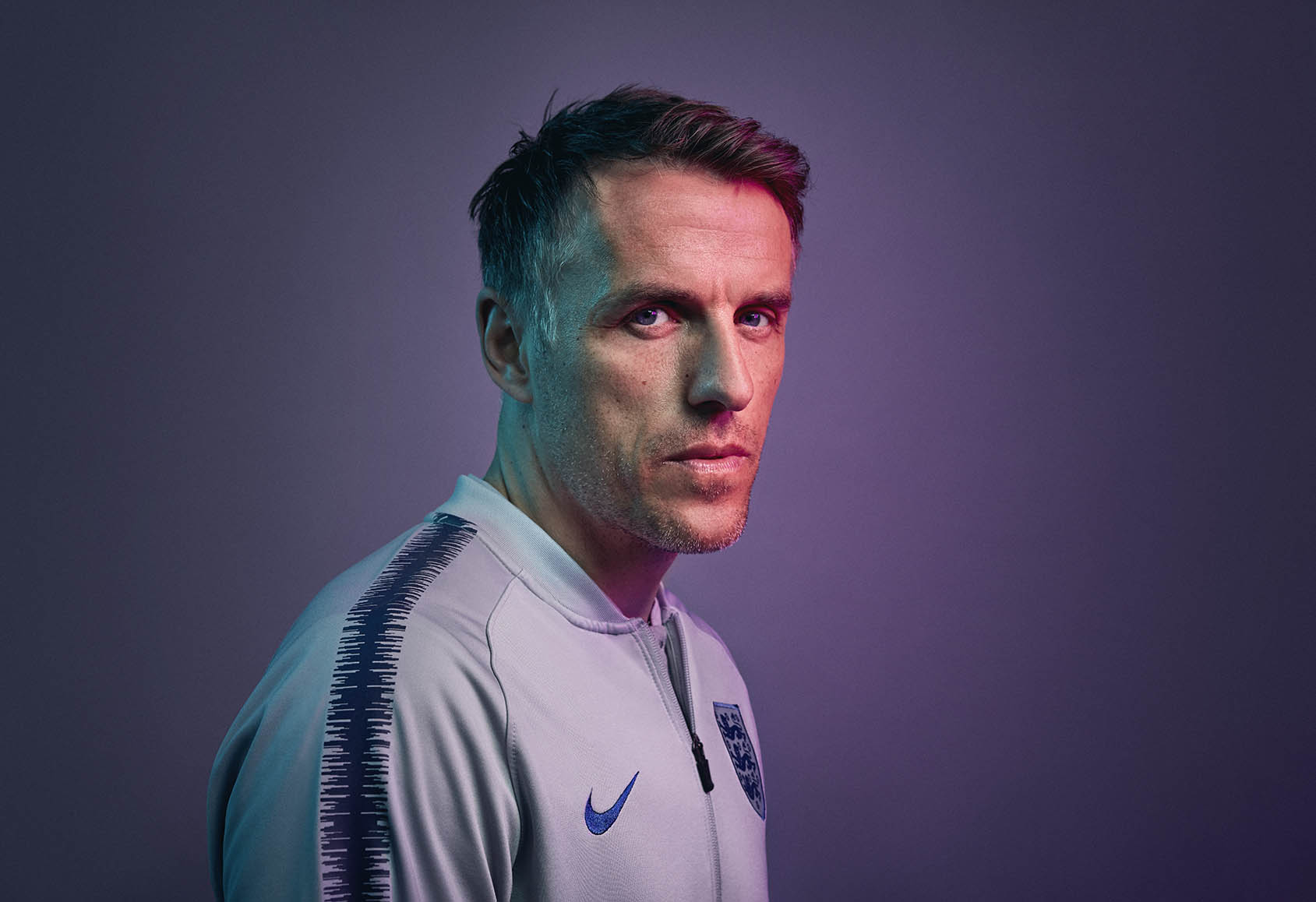 Philip John Neville is an English football coach and former player who is currently the head coach of the England women's team. He is also the co-owner of Salford City along with several of his former Manchester United teammates. Jon Enoch for TCV
