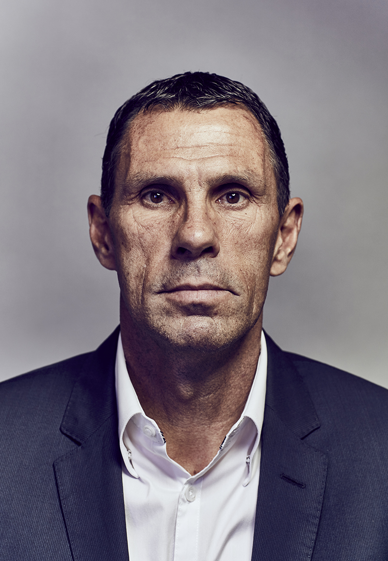 "Gustavo Augusto ""Gus"" Poyet Domínguez is a Uruguayan former footballer. He was most recently the manager of Ligue 1 side Bordeaux. Poyet played as a midfielder and began his career with short spells at Grenoble and River Plate. 