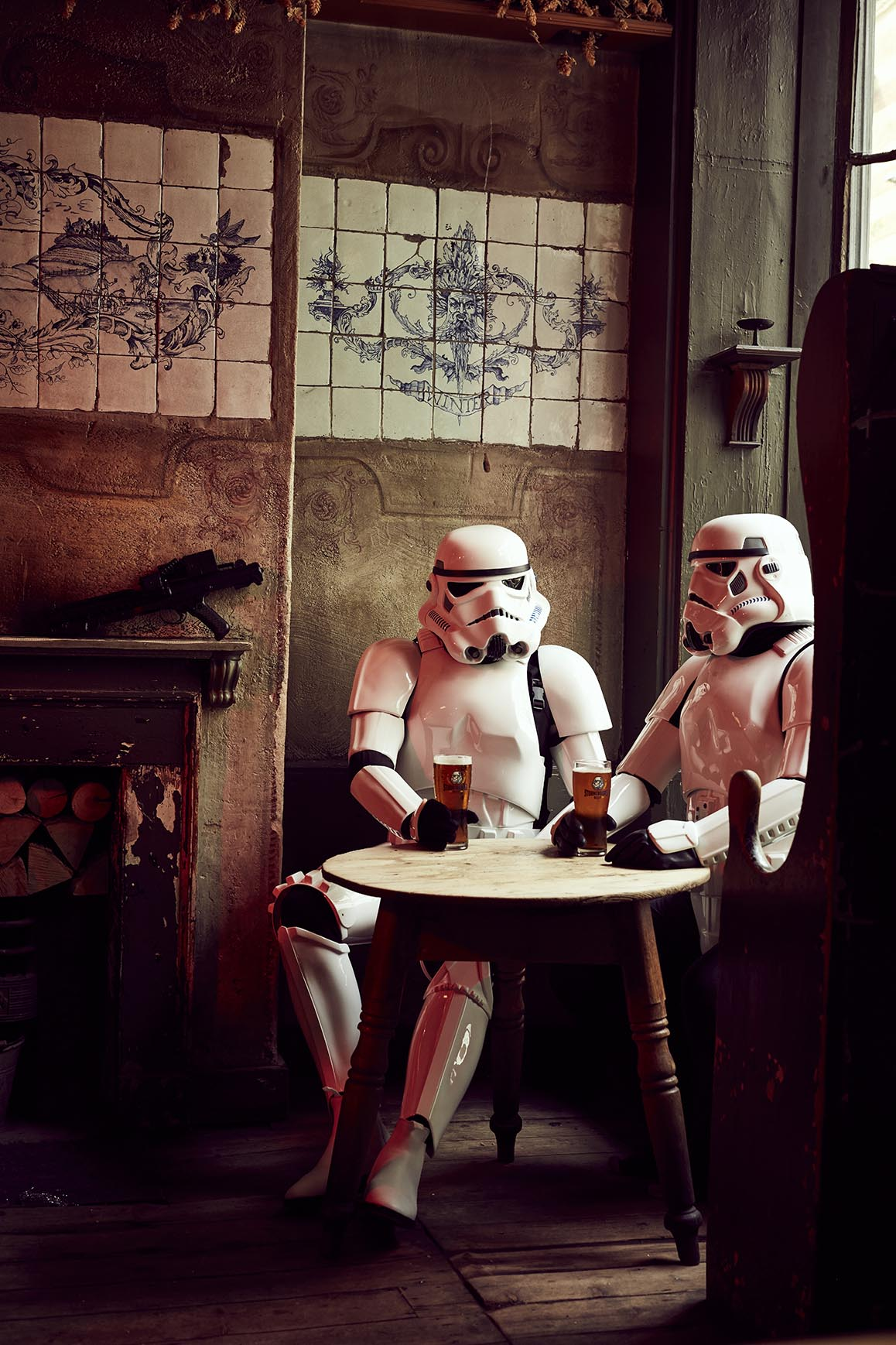 Stormtrooper beer Pr and marketing shots.