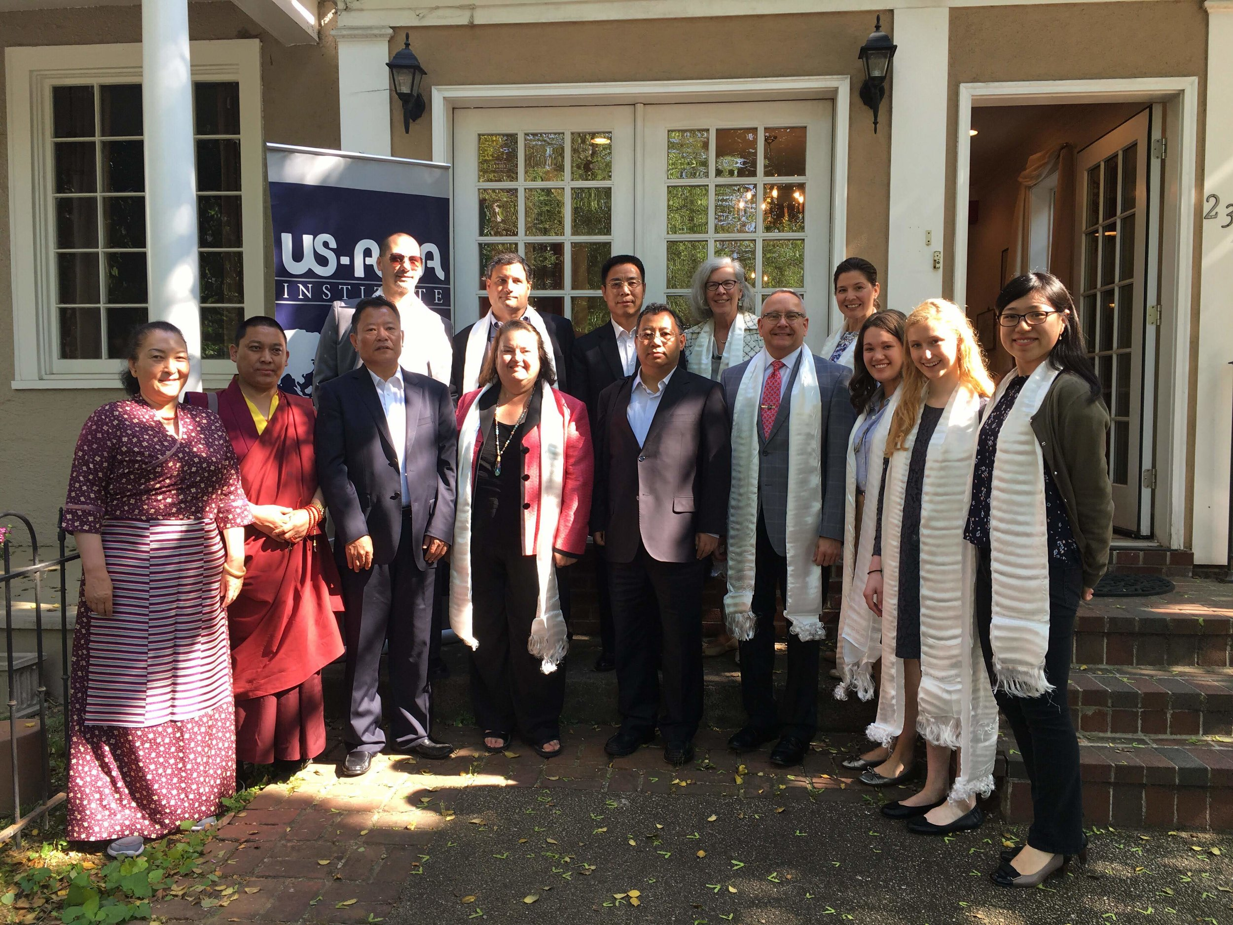 Visiting Tibetan Delegation
