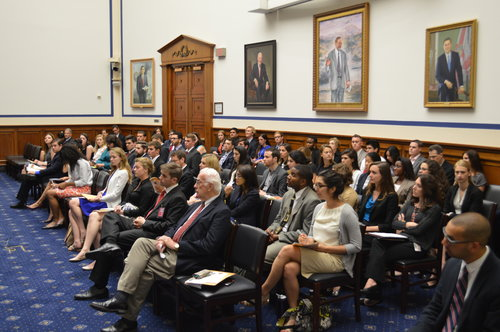 Attendees at Congressional 101 Series Event