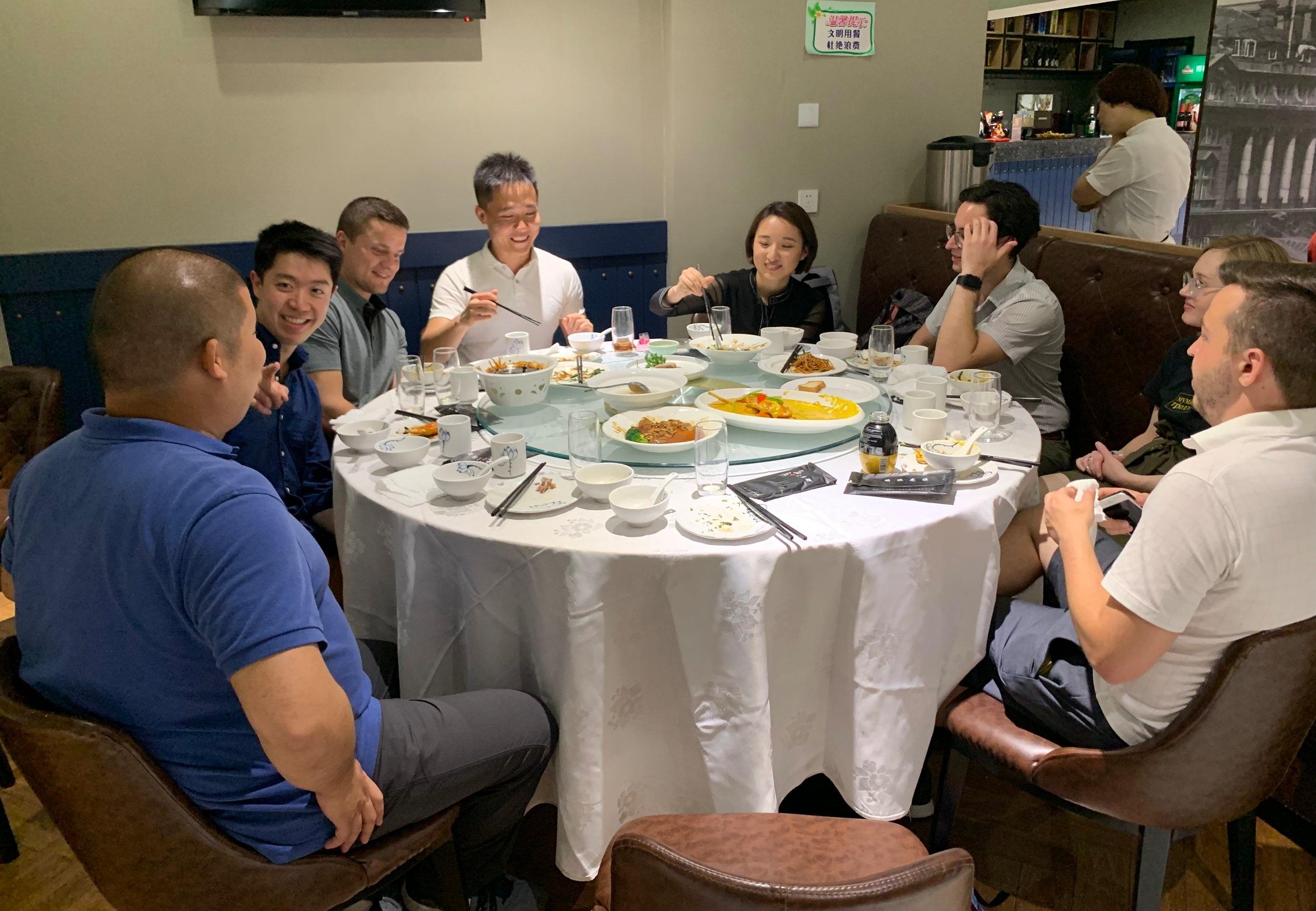 Alumni Dinner in Shanghai