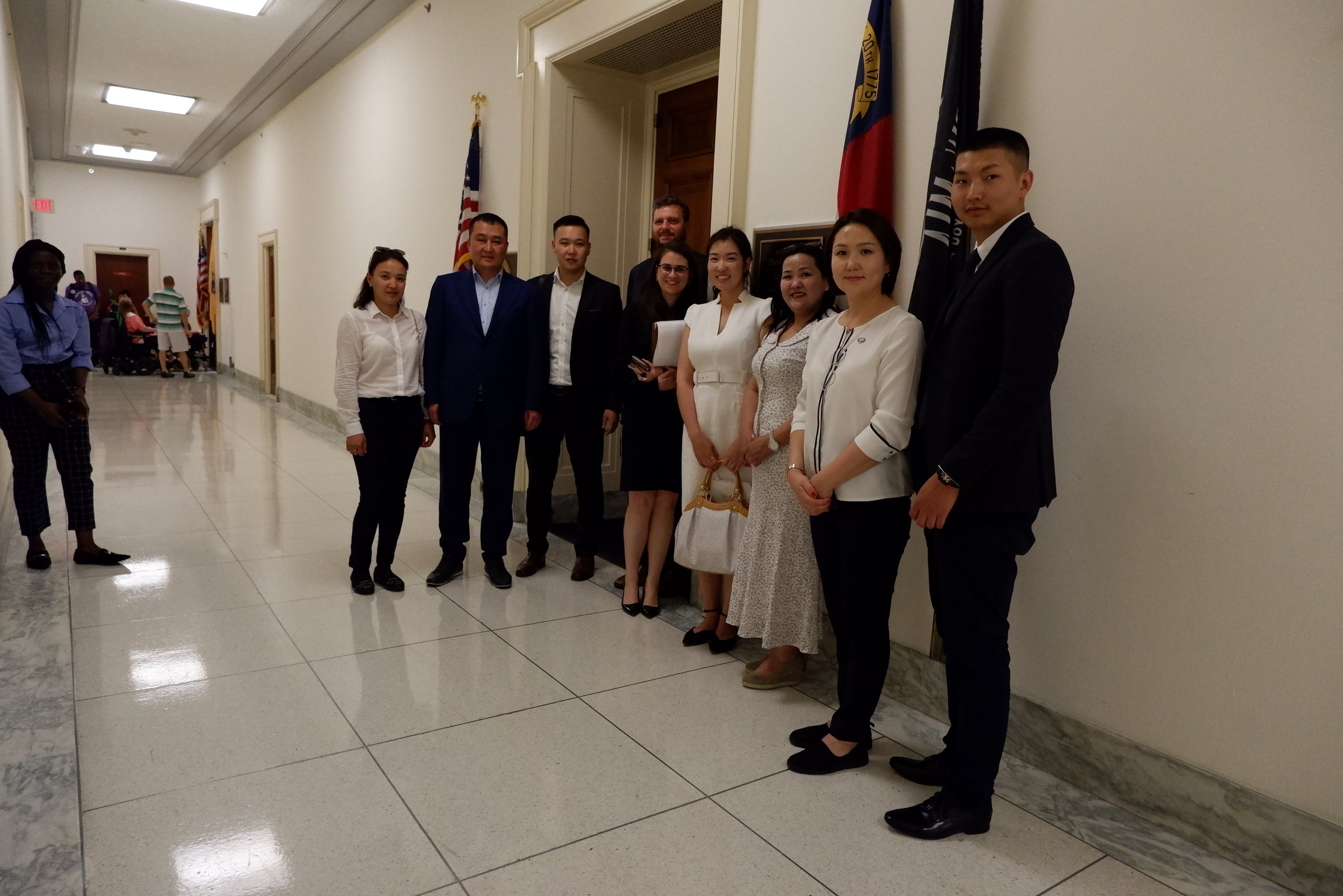 Meeting with Congressional Staff