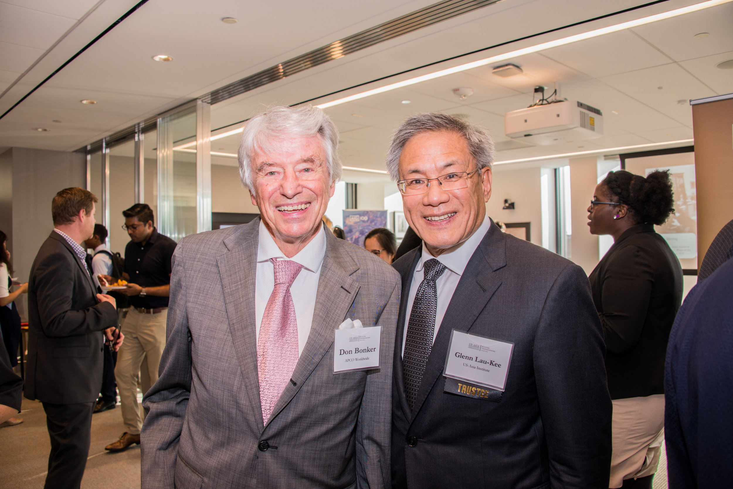 Don Bonker of APCO Worldwide and Chairman Glenn Lau-Kee.jpg