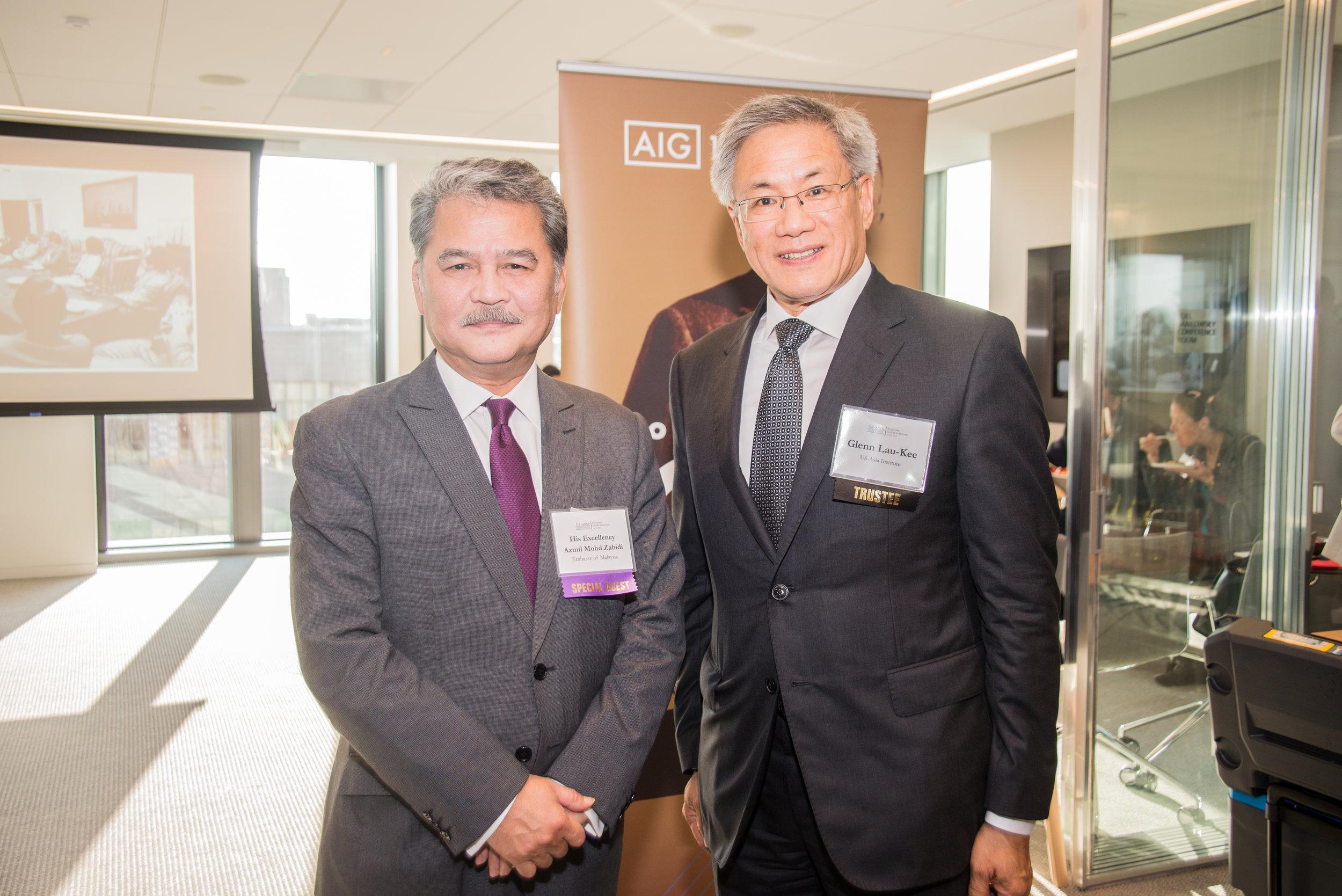 H.E Azmil Zabidi of Malaysia and Chairman Glenn Lau-Kee.jpg