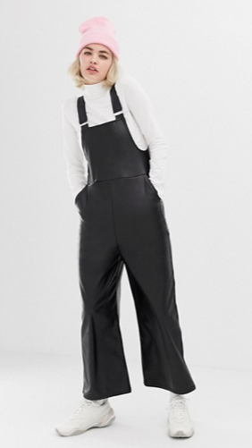 The Leather Dungaree
