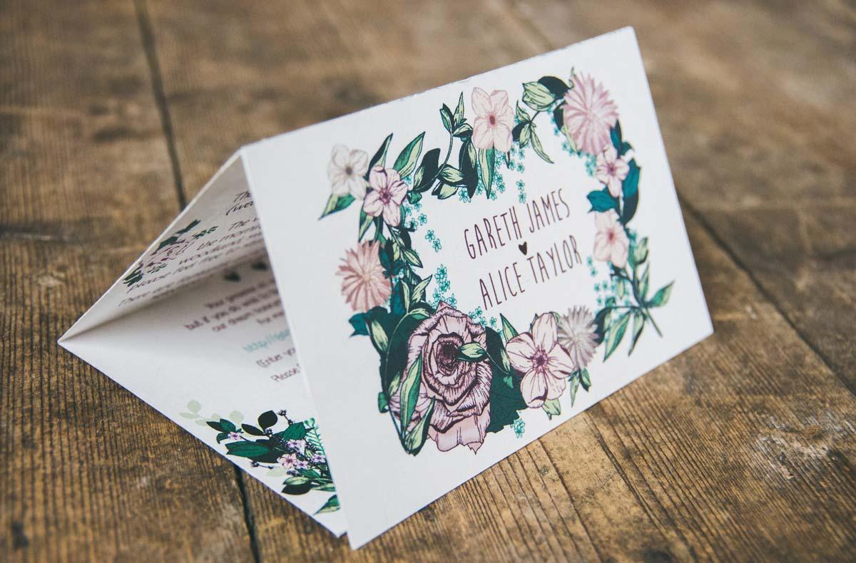 Bespoke Boho Wedding Stationery
