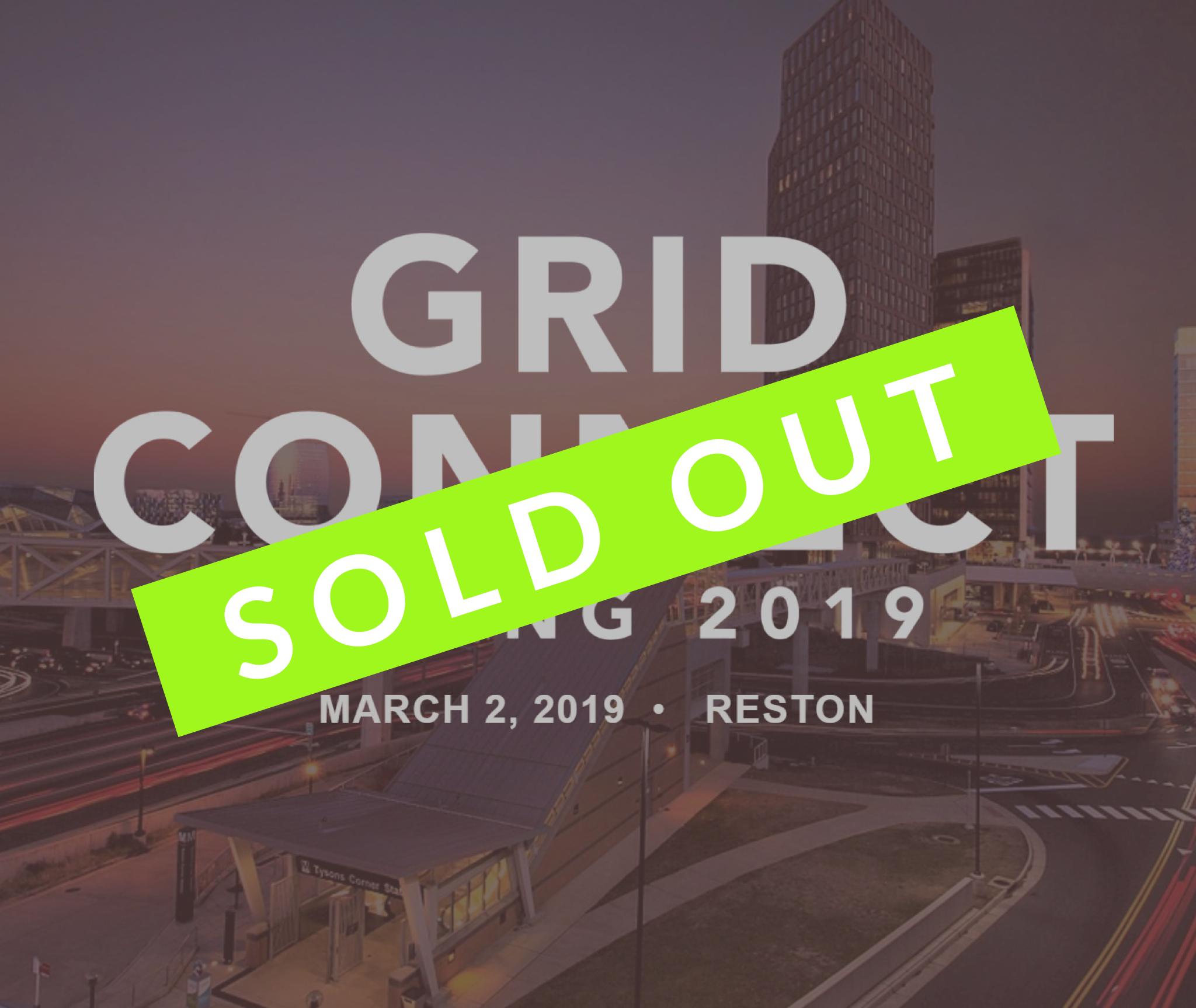 Grid Connect: Spring 2019   March 2, 2019  Reston, VA