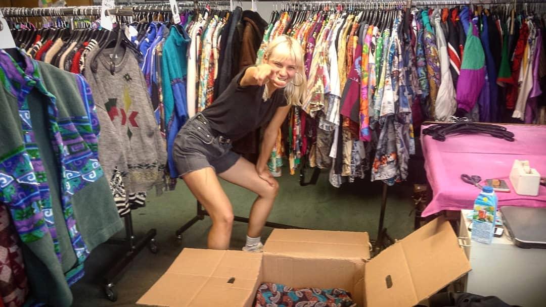 Dasha preparing shipments