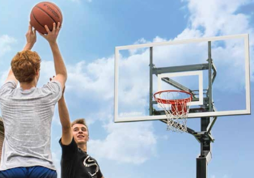 BASKETBALL HOOPS - High quality in-ground or wall mounted basketball hoops and accessories. Click on the picture for more about the Goalrilla and Goalsetter brands.