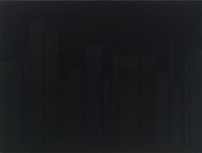 The Painter's Other Library is the Poet's Other Night Sky, No. 7, 2010