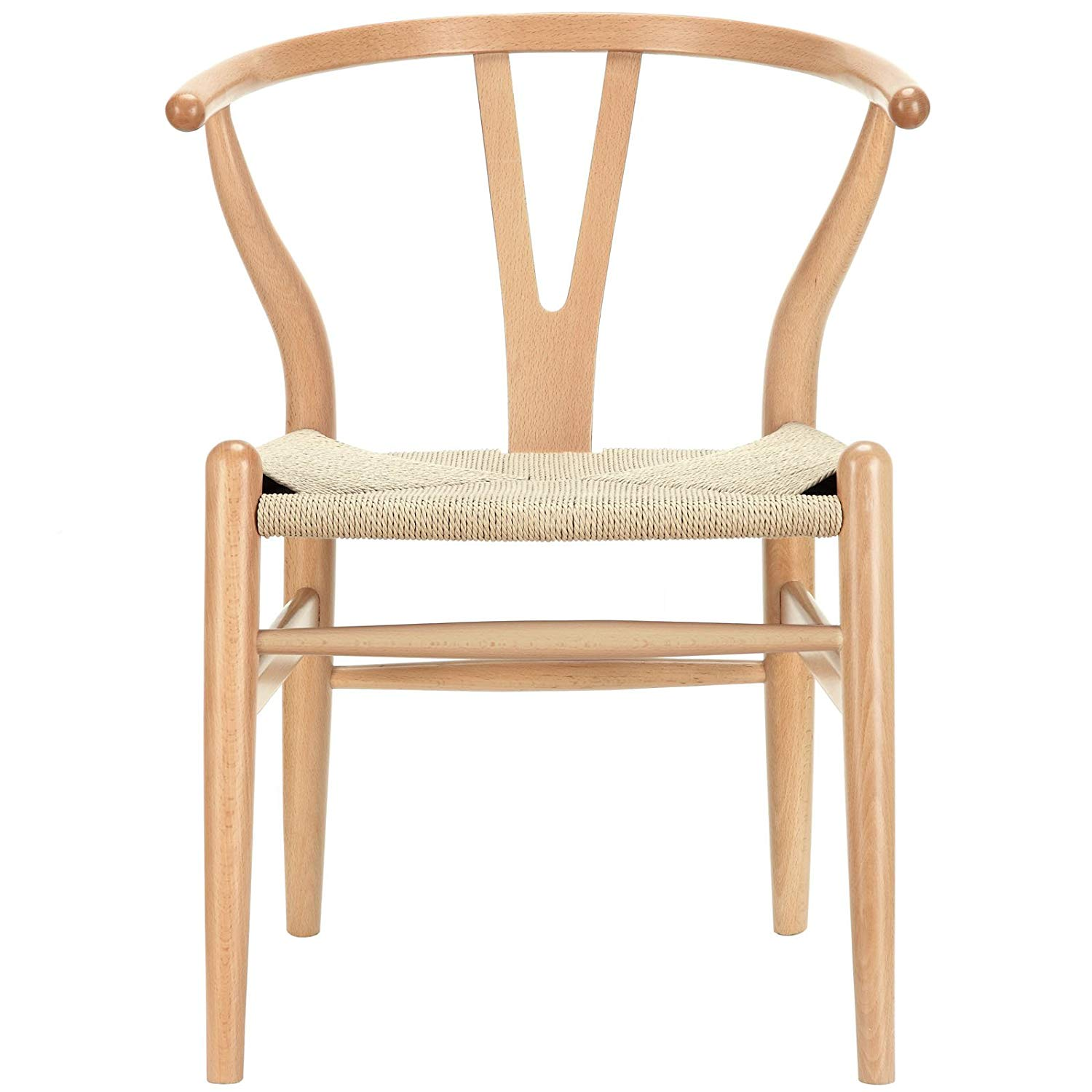 Modway Amish Mid-Century Dining Chair in Natural - $161.82