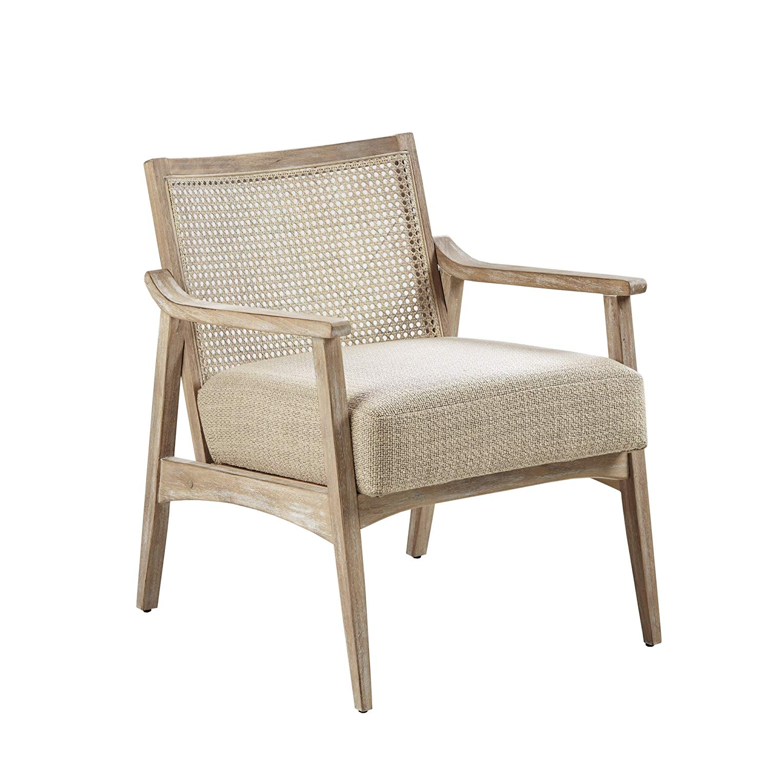 Light Brown Cane Back Accent Chair - $330.37
