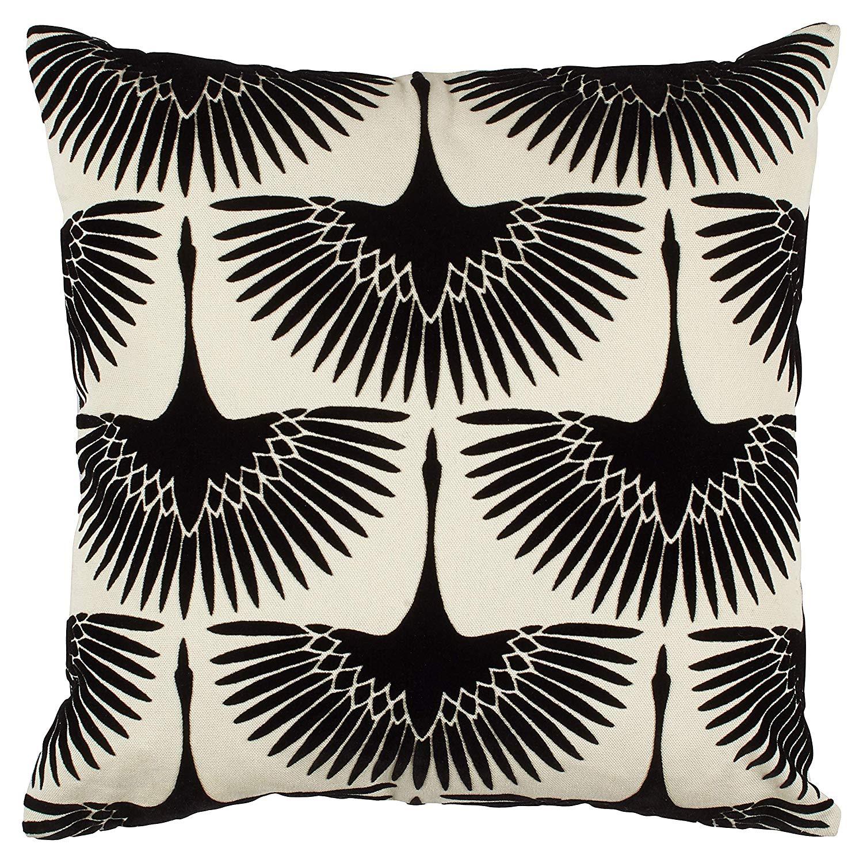 Modern Velvet Geese Silhouetted Pillow - $34.99