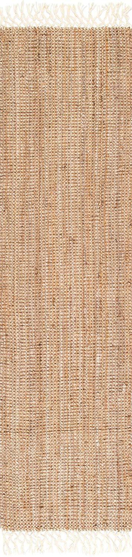 nuLOOM 10' Jute with Wool Fringe Runner - $94.97
