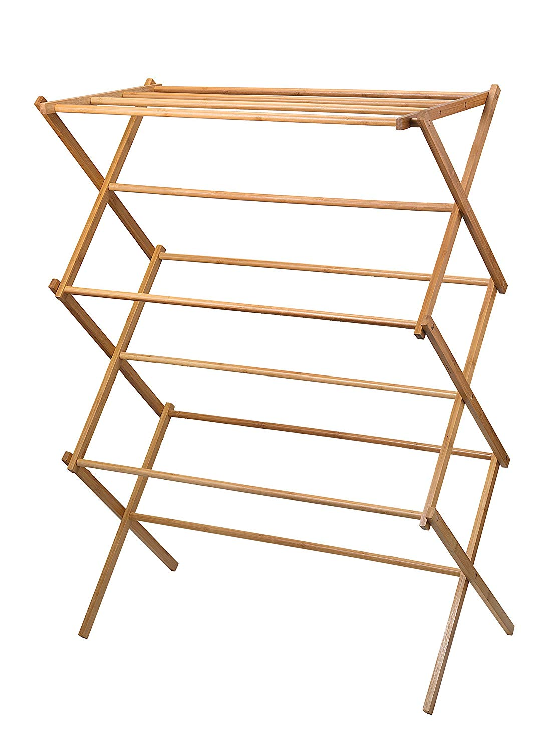 Bamboo + Wooden Drying Rack - $34.99