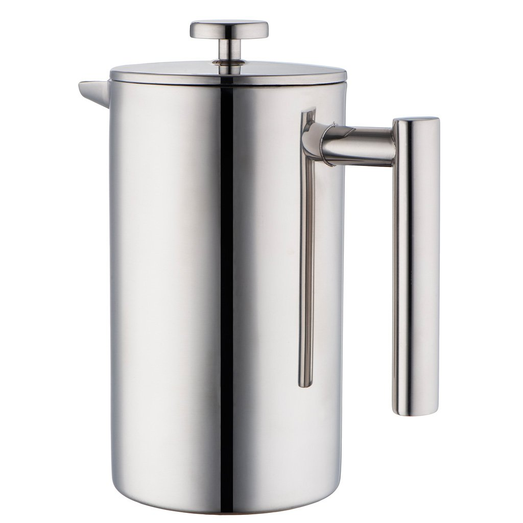 Stainless Steel French Press Coffee Maker - $24