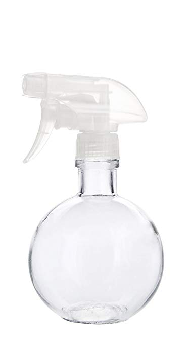 Round Recycled Glass Spray Cleaner Bottle - $16.50