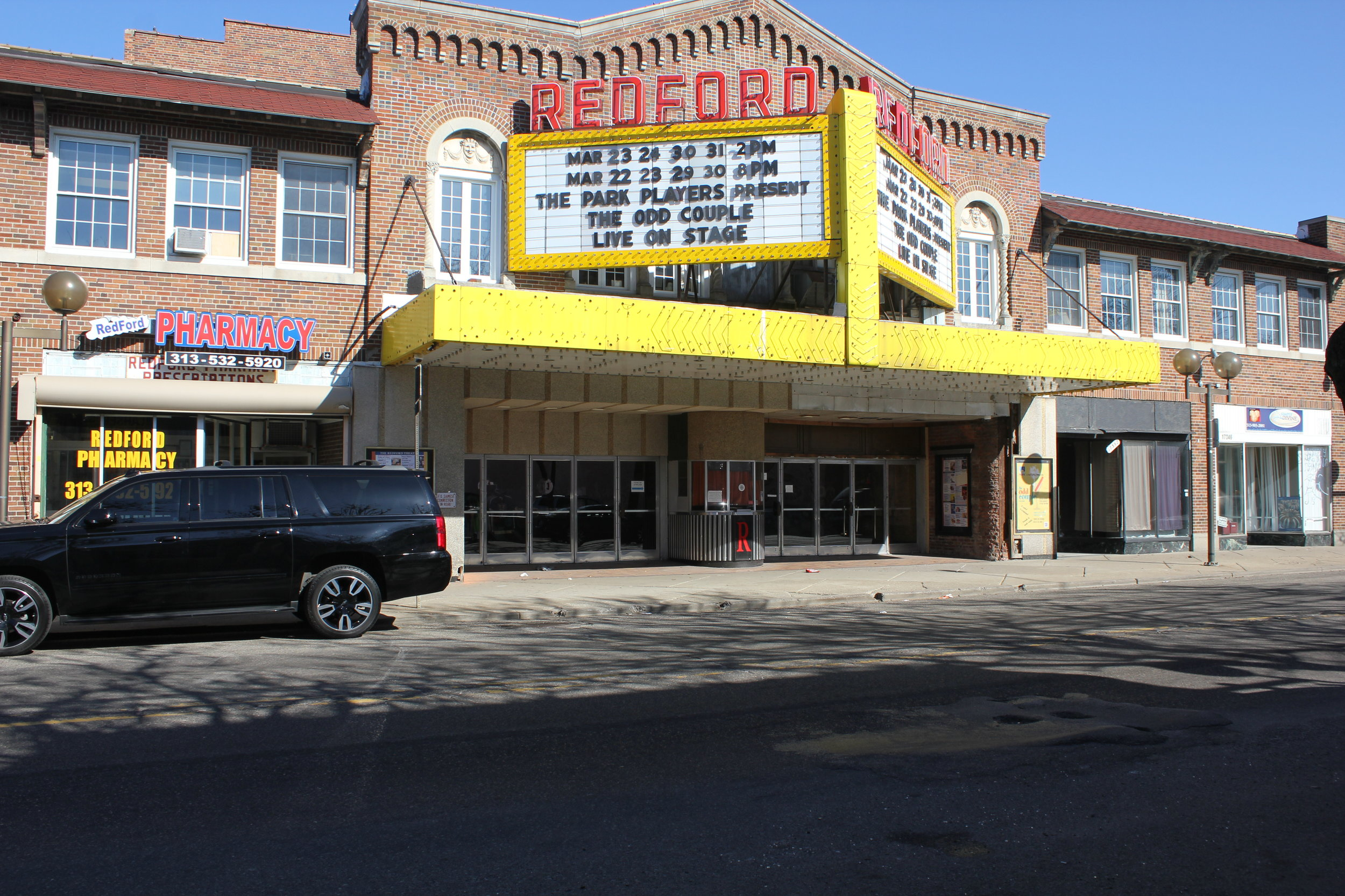 Redford Theater Marquee.JPG